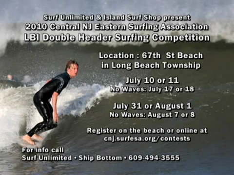 LBI 2010 Double Header Surfing Competition