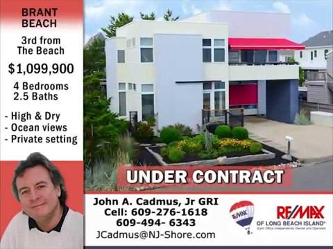 Brant Beach LBI Contemporary Home For Sale
