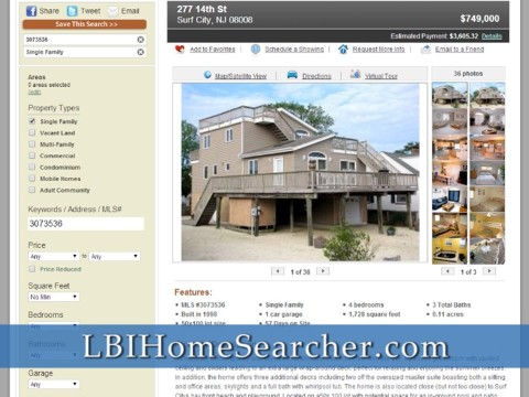 LBIHomeSearcher.com | Dave Sheridan Prudential Zack Shore Properties