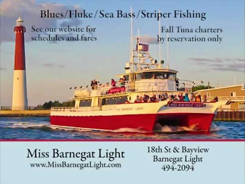 Miss Barnegat Light Fishing trips & Family Cruises, Barnegat Light NJ