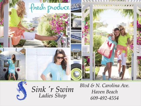 Sink 'r Swim Ladies Shop