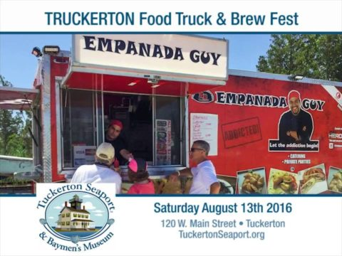 Truckerton Food Truck & Brew Fest at Tuckerton Seaport | Aug. 13 2016